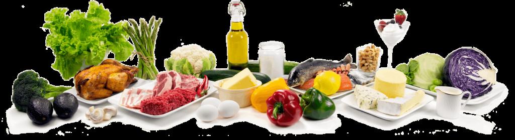 Список разрешенных и запрещенных продуктов для кетогенной диеты. Натуральная еда.