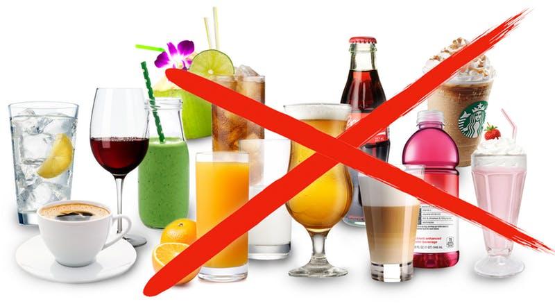 Напитки. Кето диета какие продукты можно есть, а какие нельзя.