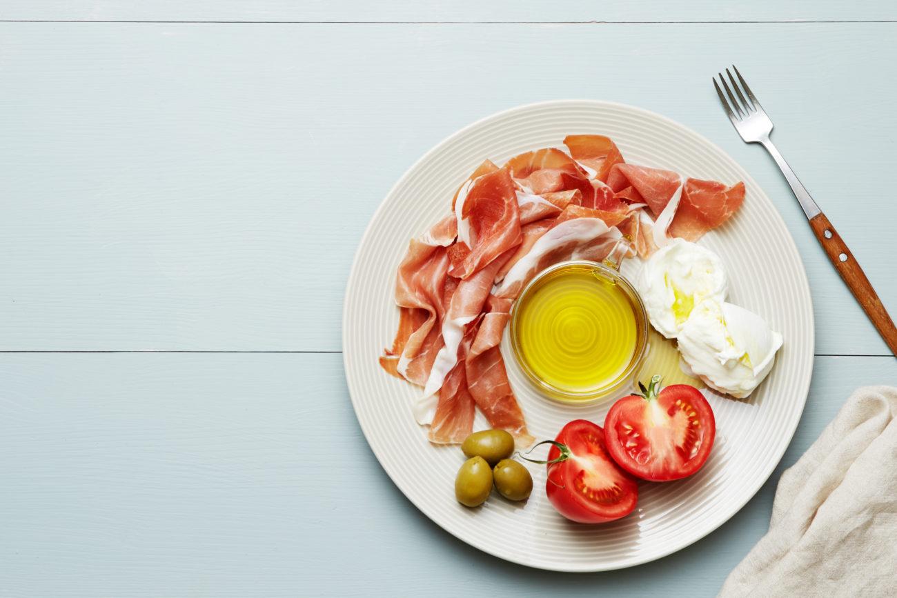 Итальянская кето-тарелка