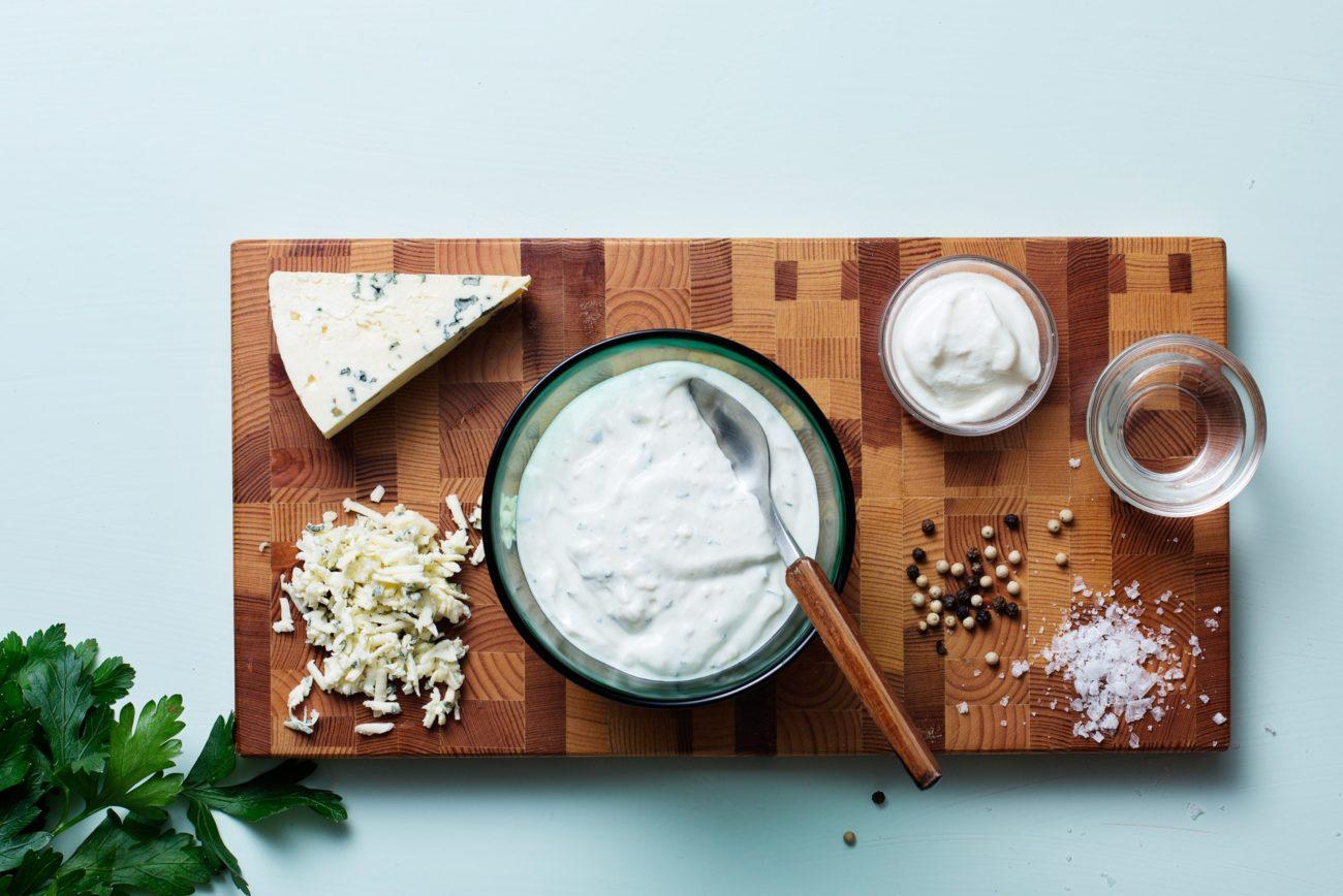 Кето-соус с голубым сыром