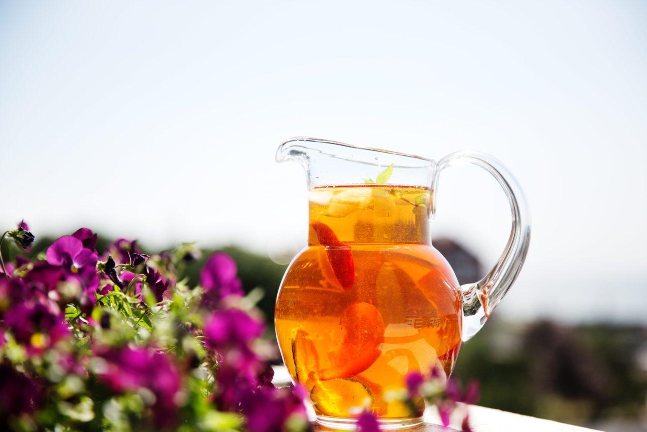 Холодный кето-чай