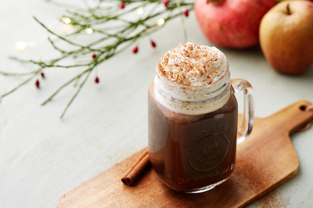 Кето-кофе с корицей