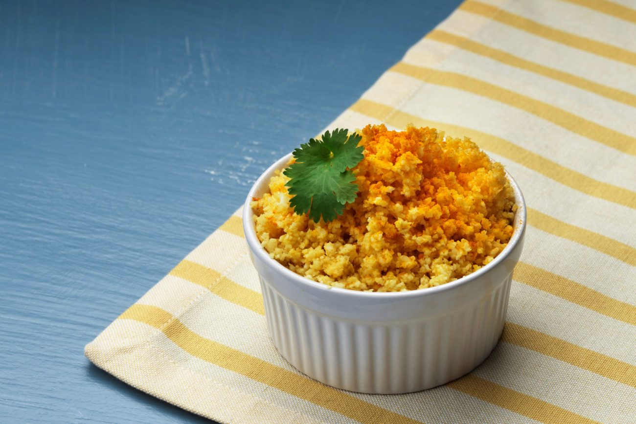 Кето-рис из цветной капусты
