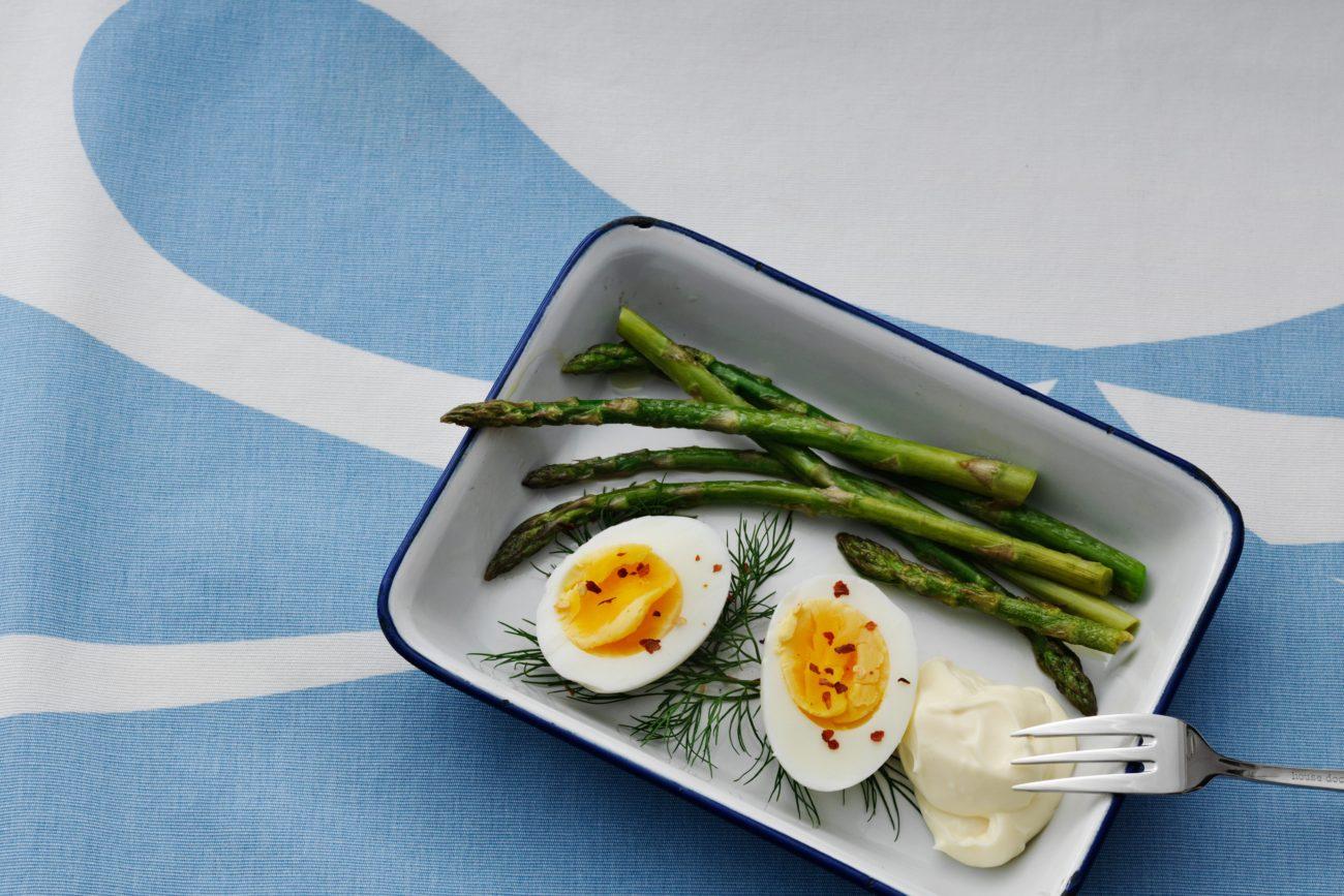 Варёные яйца с майонезом