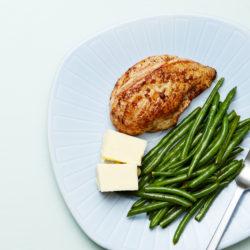 Курица со стручковой фасолью