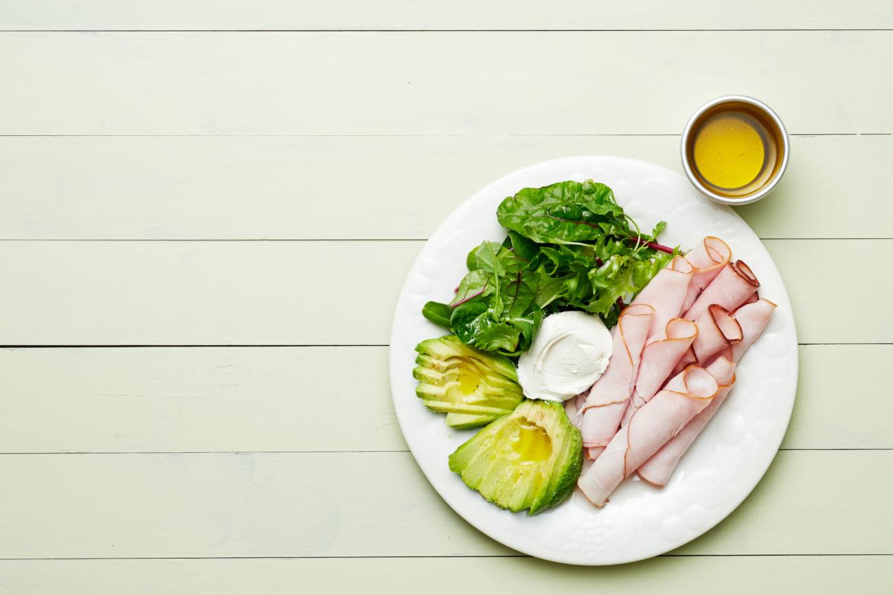 Кето-закуска из индейки