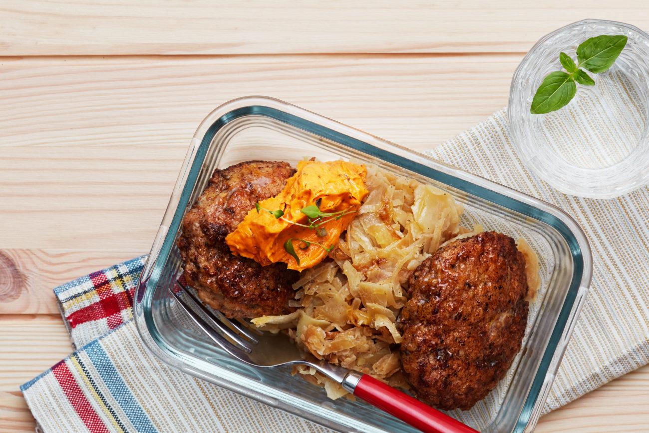 Куриные кето-котлеты с томатным сливочным маслом