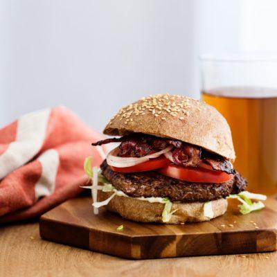 Классический кето-гамбургер