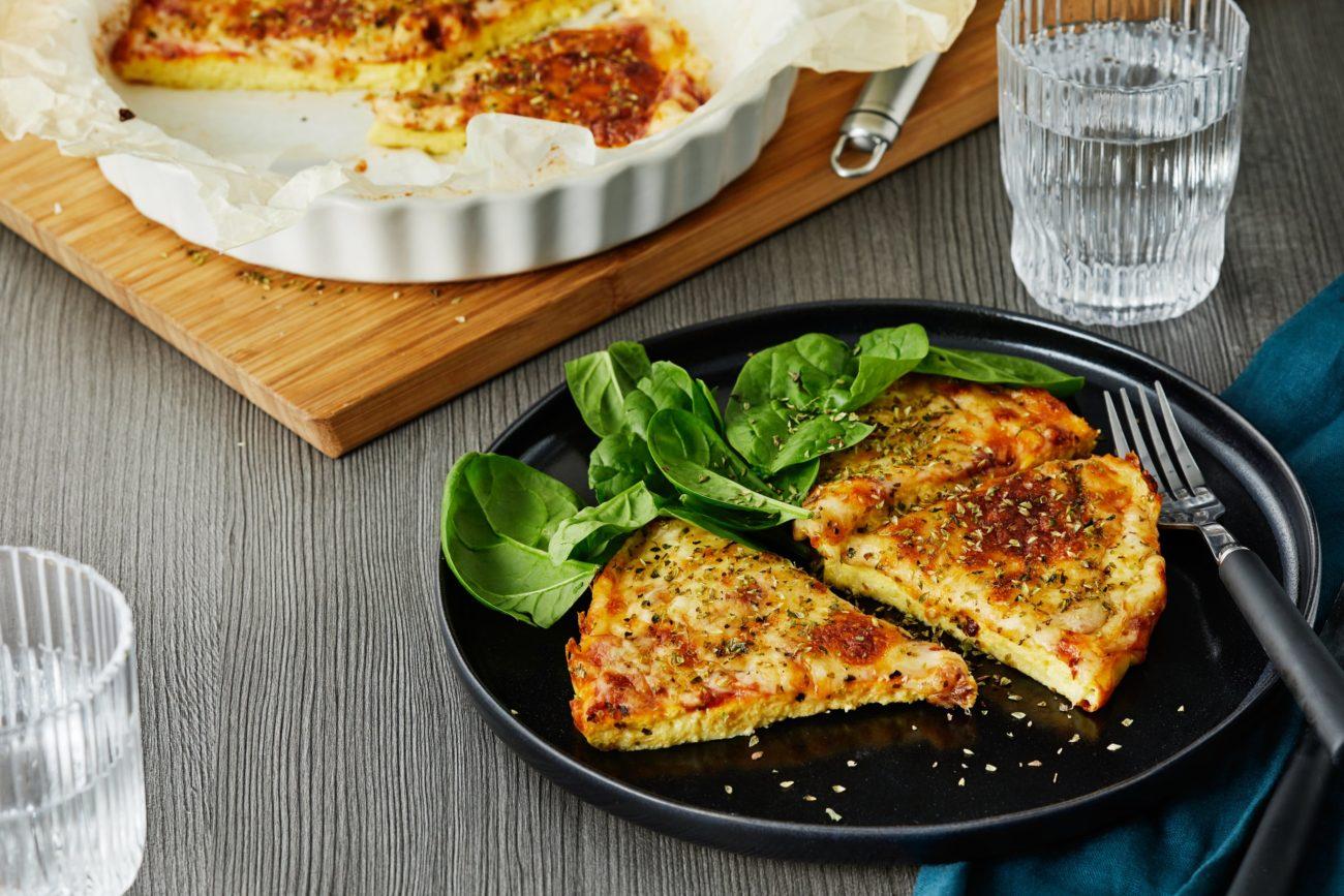 Кетогенная пицца-омлет