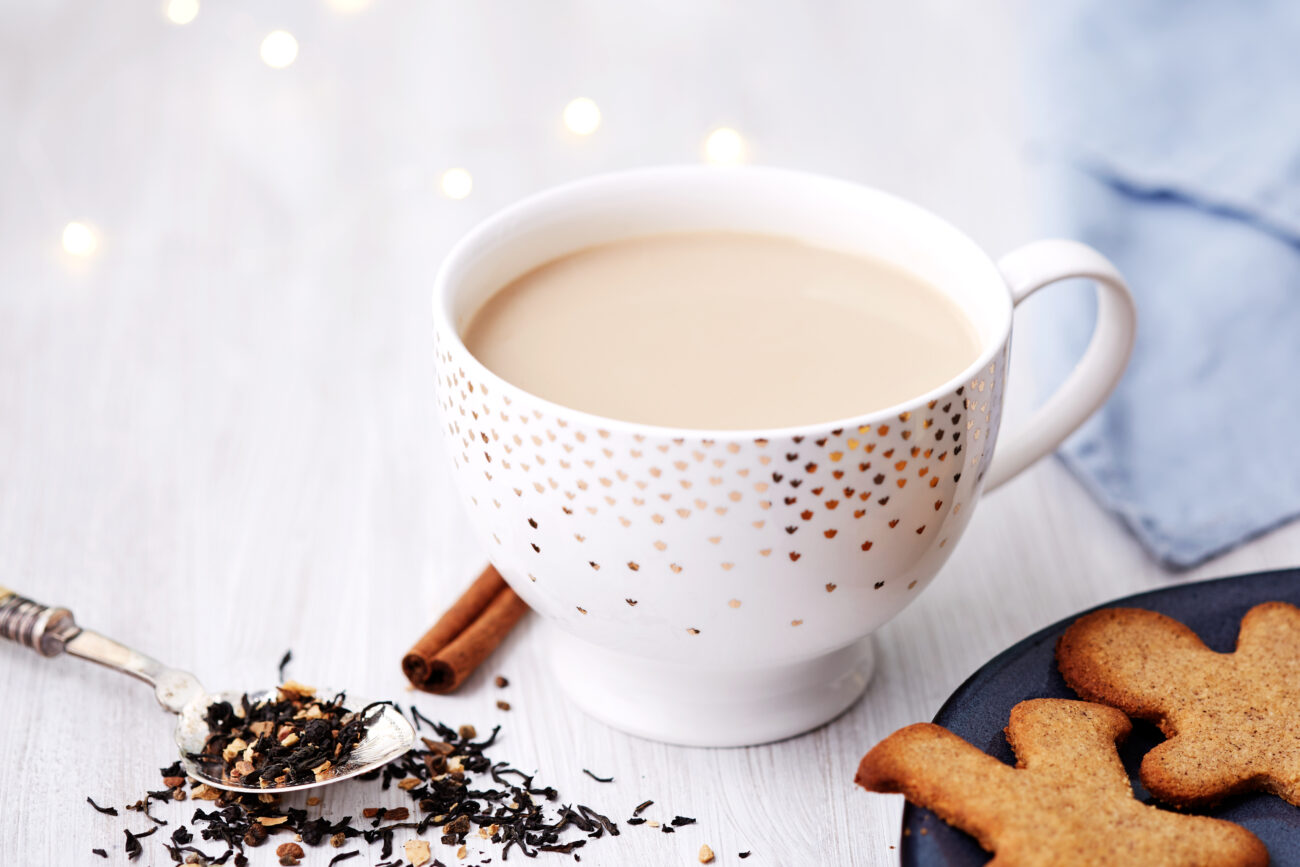 Молочный кето-чай