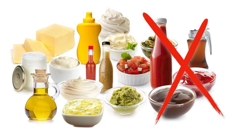 Масла и соусы. Кето диета какие продукты можно есть, а какие нельзя.