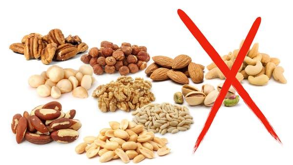 Орехи. Кето диета какие продукты можно есть, а какие нельзя.