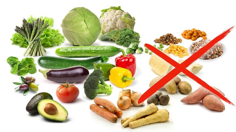 Овощи. Кето диета какие продукты можно есть, а какие нельзя.