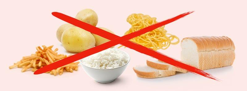 Крахмал. Кето диета какие продукты можно есть, а какие нельзя.